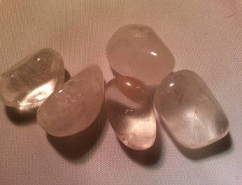 Clear Quartz tumblestones
