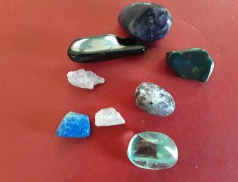 Healing Crystals Bag Gp 44 for PTSD 3