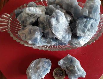 Blue Calcite Rough 1