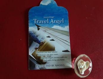 Travel angel worry stone 1